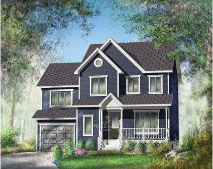 Two-storey house - 21784
