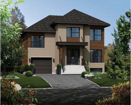 Two-storey house - 21801