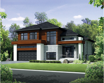 Two-storey house - 21802