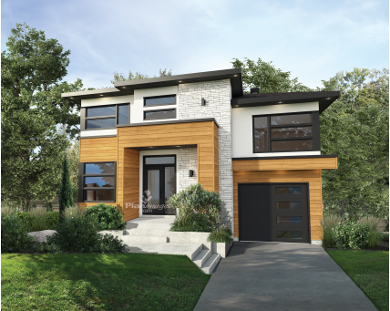 Two-storey house - 22000