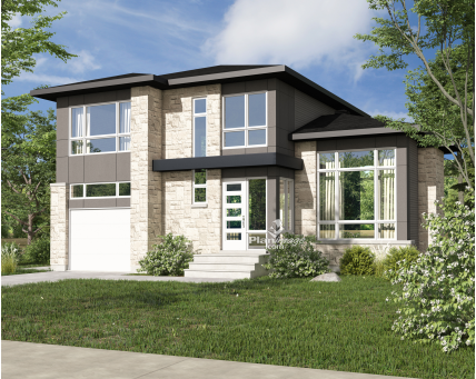 Two-storey house - 22341