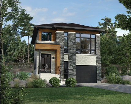 Two-storey house - 22560