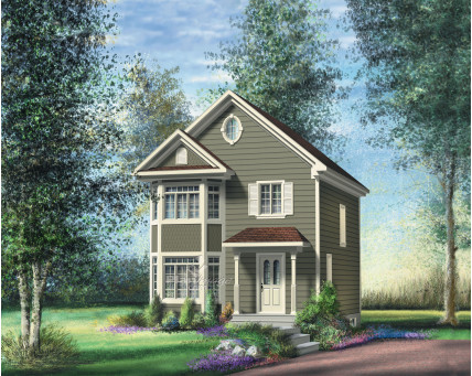 Two-storey house - 22613