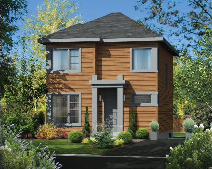 Two-storey house - 24622