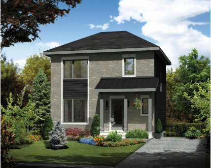 Two-storey house - 25031