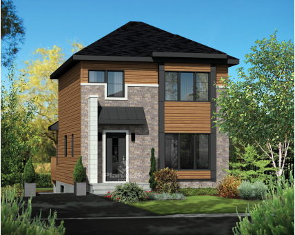 Two-storey house - 25122