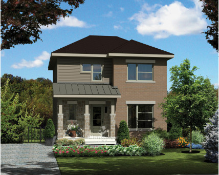 Two-storey house - 25221