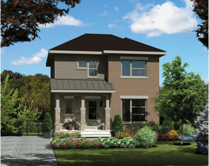 Two-storey house - 25231