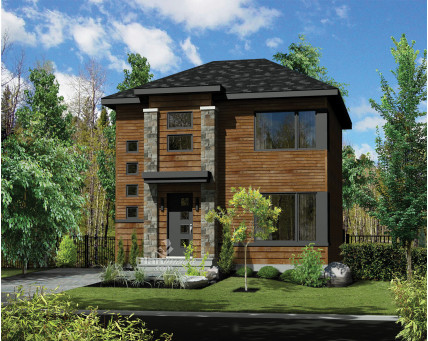 Two-storey house - 25711