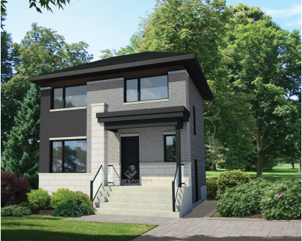 Two-storey house - 26104