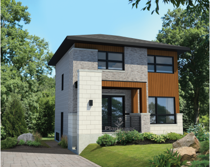 Two-storey house - 26204