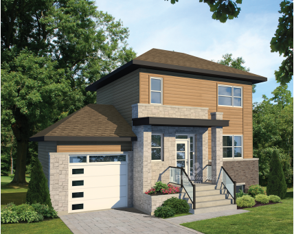 Two-storey house - 27304