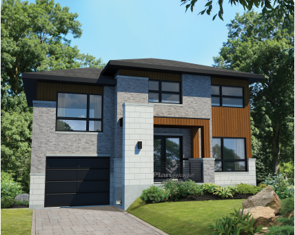 Two-storey house - 28204