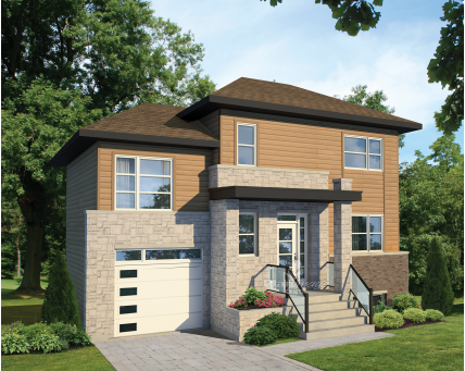 Two-storey house - 28304