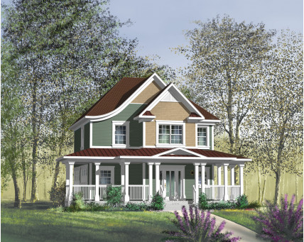 Two-storey house - 71038