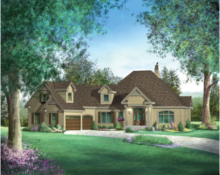 Two-storey house - 71348