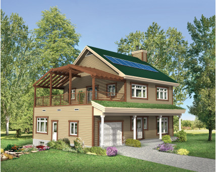 Two-storey house - 71708