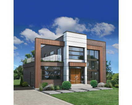 Two-storey house - 81015