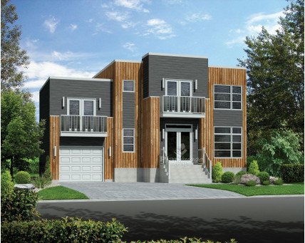 Two-storey house - 81022
