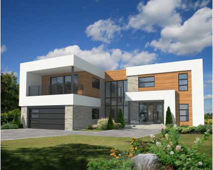 Two-storey house - 81124
