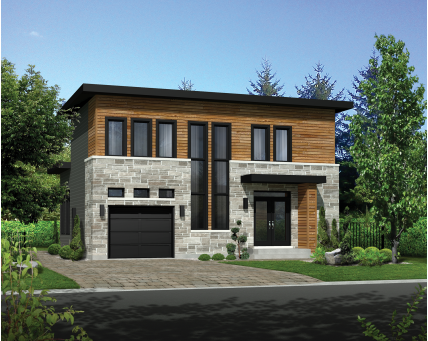 Two-storey house - 81542