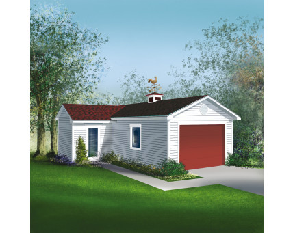 Garage with shed - G-11A