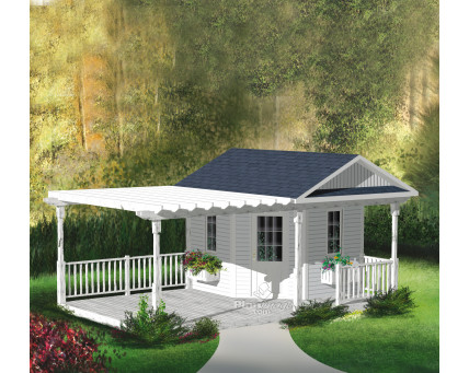 Shed with deck - R-17A