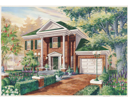Two-storey house - CCL00033D