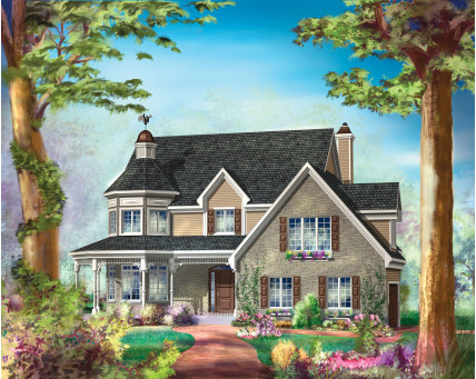 Two-storey house - CCL00057