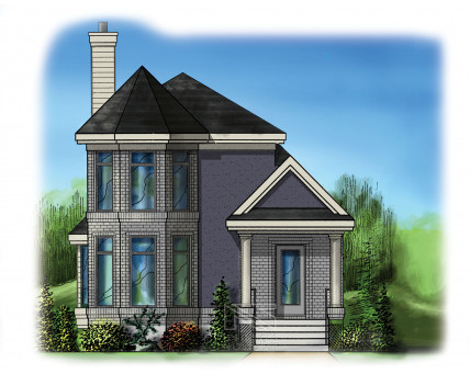 Two-storey house - DNC210001